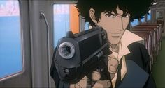 Cowboy Bebop - One of the great Japanese animated television series made popular by comedy central's late night programing adult swim. If you've never seen anime before this is a perfect place to start. The show contains a lot of old west themes as a scruffy group of bounty hunters in the not so distant future try to make ends meat while catching criminals. Its a lot of comedy, action and drama. This is a good clip of the essence of the show. http://www.youtube.com/watch?v=jzr0a0sKn6Q You…