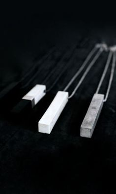 Parts of Four | Cuboid necklaces | Spring 2015