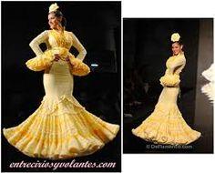Resultado de imagen de lo ultimo en moda flamenca
