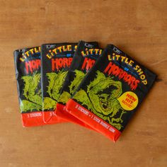 Little Shop Of Horrors 4Pk, $14, now featured on Fab.