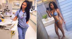 Meet Rita Mattos, the Instagram Model social media is Calling 'The World's Sexiest Nurse' - http://www.nollywoodfreaks.com/meet-rita-mattos-the-instagram-model-social-media-is-calling-the-worlds-sexiest-nurse/