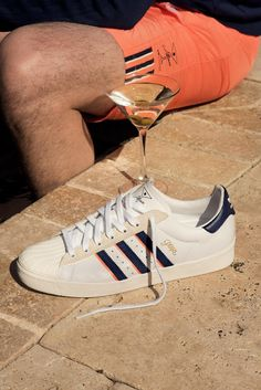quality design e8be7 76aa7 Skate label Alltimers is working with adidas Skateboarding to add its  vintage influenced style on some kicks and gear. The apparel side of the  collection i