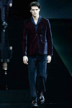 Emporio Armani | Fall 2014 Menswear Collection
