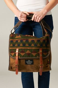 Aztec Messenger Bag