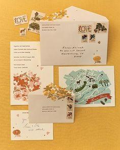 wedding invitations wedding-inspiration-board