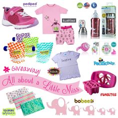 Little Miss Giveaway – Win a Gift Set of Summer Essentials for Girls!