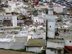 Minaretes en la Medina de Tetuán, Carlos Cuerda