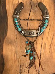 Amazing Old Stock Southwest Turquoise Horseshoe Home Decor Custom Made USA!
