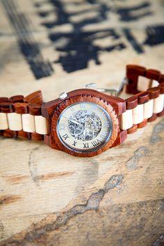 Steampunk Wooden Watch
