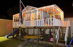 Organic Gardening Supplies Needed For Newbies Cubby House : Cubby Houses : Cubbyhouse : Cubbyhouses : Cubbykraft Australia Cubby House Plans, Kids Cubby Houses, Kids Cubbies, Play Houses, Kids Outdoor Play, Backyard For Kids, Kids Play Area, Play Areas, Indoor Play