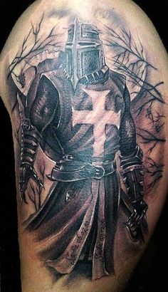 Warrior Tattoo Sleeve, Armor Of God Tattoo, Warrior Tattoos, Arm Sleeve Tattoos, Viking Tattoos, Forearm Tattoos, Bull Tattoos, God Tattoos, Star Tattoos