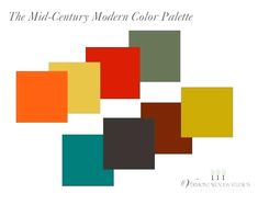 15 Best Midcentury Modern Color Palette Images Benjamin Moore