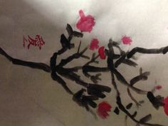 BCA elementary Chinese/Oriental Ink and watercolor painting and history on rice paper. Mandarin word done with a stamp (older students do in handpainted calligraphy) Studio Art, Chinese Culture, Rice Paper, Art Studios, Art Education, Art Lessons, Watercolor Paintings, Oriental, High School
