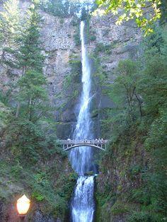 Multonomah Falls in Oregon