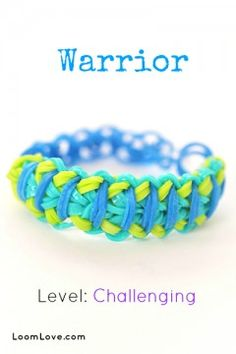 How To Make Rainbow Loom Bracelets - Instructions and Patterns - Loom Love