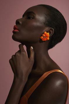 Citrine Flower Earrings by SABBADINI for Preorder on Moda Operandi