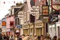 County Kerry's Dingle Peninsula is one of Ireland's most beautiful coastal regions. Home to Antarctic explorer Tom Crean, fungie and great Irish pubs. Connemara, Ireland Vacation, Ireland Travel, Scotland Vacation, George Clooney, Agent Provocateur, Disneyland, Ireland Pubs, Books Art