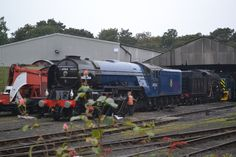 60163 in Wansford yard © Angie Nurse