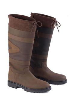 OUR PRICE: The Toggi Quebec boot is a handmade long, luxurious milled leather country boot. With a waterproof membrane, these boots are waterproof and breathable ensuring you remain dry in all weather conditions. The comfort of these boots is Sexy Boots, Casual Boots, Calf Boots, Thigh High Boots, Equestrian Supplies, Horse Riding Boots, Crotch Boots, Hunter Wellies, Country Boots