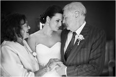 Bride and her mom and dad Beautiful Bride, Mom And Dad, Wedding Gowns, Ball Gowns, Lace Dress, Dads, Tulle, Photography, Weddings