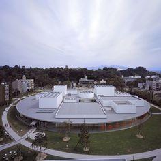 Architect - SANAA. Project-  21st Century Museum of Contemporary Art. Location Kanazawa, Ishikawa, Japan. Date- 2004