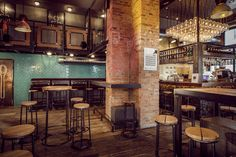 Bar Méter en Budapest, decorado al más puro estilo industrial | Blog T&D