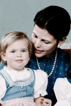 Princess Madeleine of Sweden, Duchess of Hälsingland and Gästrikland (Madeleine Thérèse Amelie Josephine;[1] born 10 June 1982), is the youngest child and second daughter of King Carl XVI Gustaf and Queen Silvia of Sweden. Upon her birth, she was third in line of succession to the Swedish throne. After the birth of her niece, Princess Estelle, in February 2012, she became fourth in line of succession.