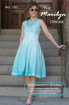 Sewing Pattern, Serendipity Studio, The Marilyn Dress