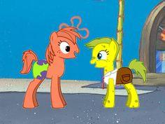 My Little Pony Comic, Spongebob, Ponies, Disney Characters, Fictional Characters, Marvel, Deviantart, Board, Party