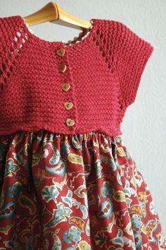 Ideas for crochet skirt girl simple Crochet Yoke, Crochet Girls, Crochet For Kids, Crochet Baby, Crochet Fabric, Crochet Edgings, Crochet Crafts, Yarn Crafts, Crochet Stitches
