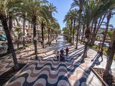 Explanada de España, Alicante- Alicante City & Experience