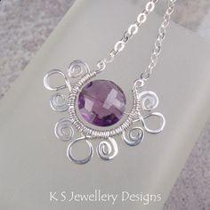 Wire Jewelry Tutorial SPIRAL LOOP FRAMES by KSJewelleryDesigns