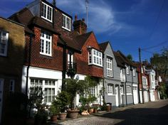 Agatha Christies house in London.I had been living in a mews nearby (Creswell Gardens)