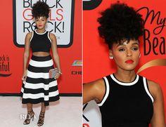 ... Monae In RVN - BET's 'Black Girls Rock!' - Red Carpet Fashion Awards