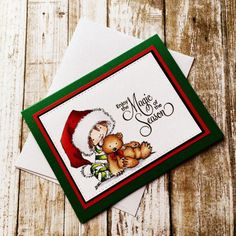 Rowhouse Greetings | Christmas | Beary Merry Christmas