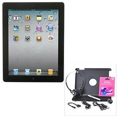 431-952 - The New iPad Multi-Touch Retina Display Tablet Bundle w/ Accessories & $25 iTunes Card