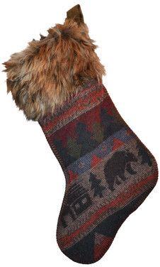 Wayfair Christmas Bear Stocking #Affiliate LinkEdit description