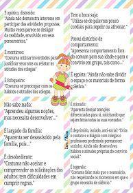 Novas ideías sobre preenchimento de relatórios de educação Infantil !!  créditos by @professoresfascinates (Instagran)