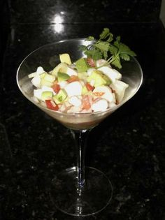 Citrus Ceviche With Shrimp and Scallops.  This is the closest recipe I have found that emulates the ceviche at The Fish Market!  Awesome!!!!