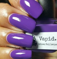 Vapid Lacquer Feed Me Grapes no flash