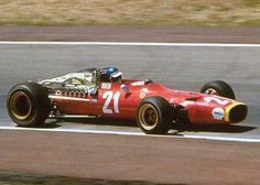 1968 Jackie Ickx, Scuderia Ferrari, Ferrari 312 Formula 1
