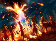 Magic the Gathering: Eidolon of the Great Revel by tegehel on DeviantArt