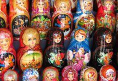 Matryoshka Dolls, Moscow, Russia