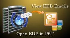 "You can restore few useful EDB messages b/w 2 dates ""from date"" to ""to date"" into PST, EML, MSG and HTML with all attachment and properties by using EDB Converter Software.  https://www.windows10download.com/convert-edb-file-pst-file/"