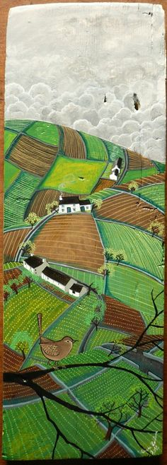 Вдохновленная деревней, Valeriane Leblond - Ярмарка Мастеров - ручная работа, handmade