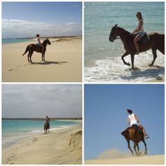 horse riding on the beach... reminds me of NZ