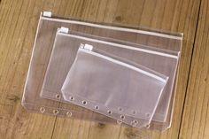 A5 A6 A7 ПВХ Прозрачный Файл Мелочи Хранитель для 6 Отверстий Вкладыш Спираль…
