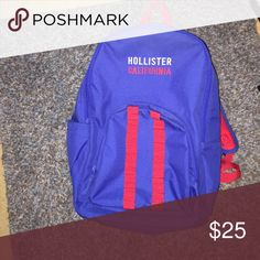 Brand new Hollister Backpack Perfect for back to school wear! Brand new without tags! Hollister Bags Backpacks