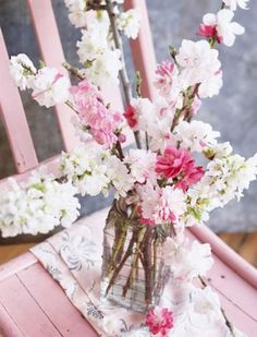 Cherry Blossoms and the Tables They Inspire