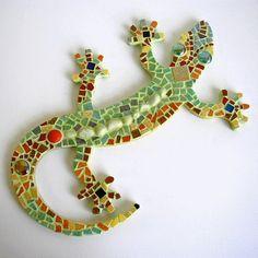 Mosaïque gecko